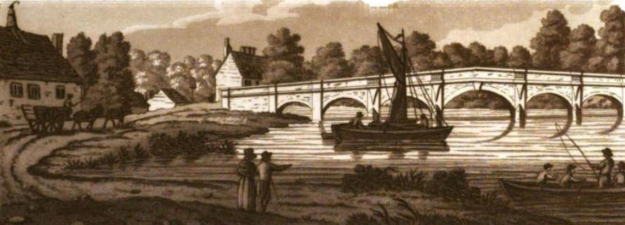 Chertsey Bridge 1792
